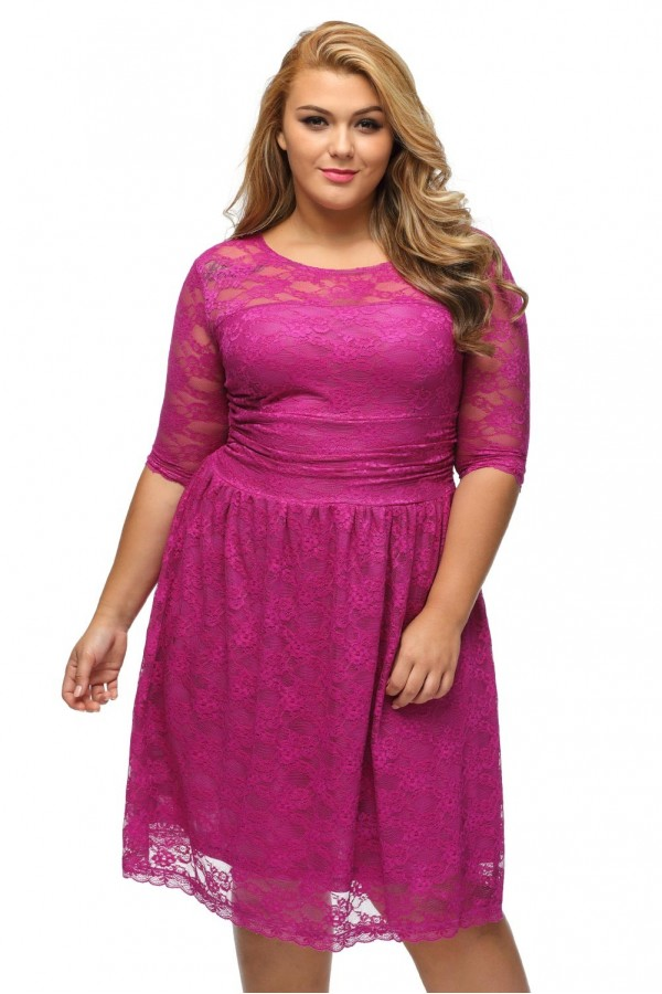 Rochie XXL Awesome Purple