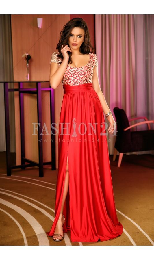 Rochie De Seara Red Lace