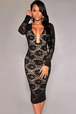 Rochie Feminity Expression Black