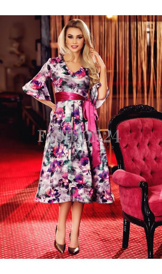 Rochie Pink Flourished