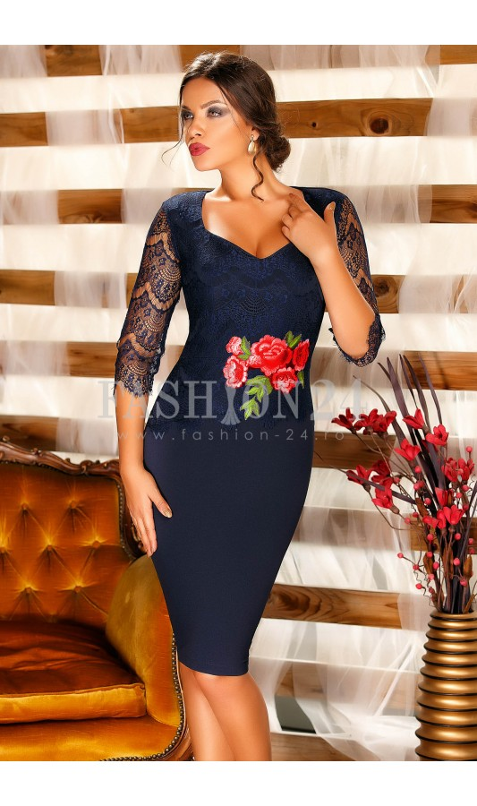 Rochie Navy Freedom Long