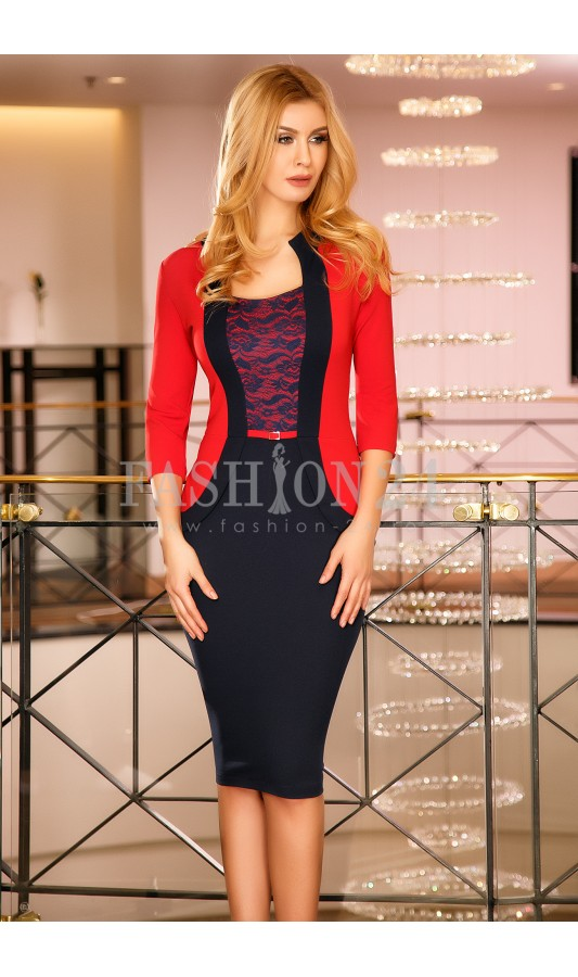 Rochie Melisa Red
