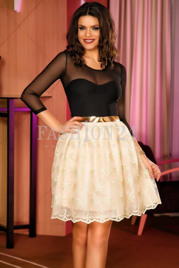 Rochie Belle Black