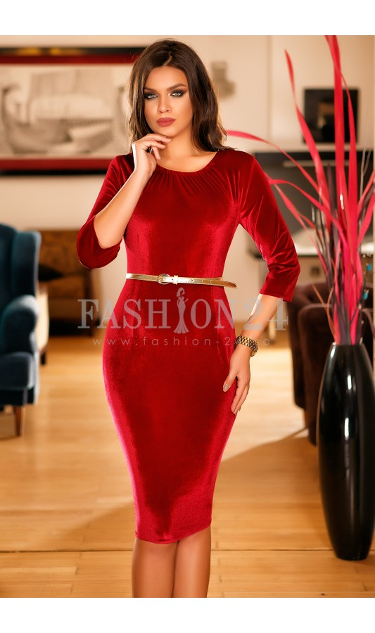 Rochie Callie Light Red