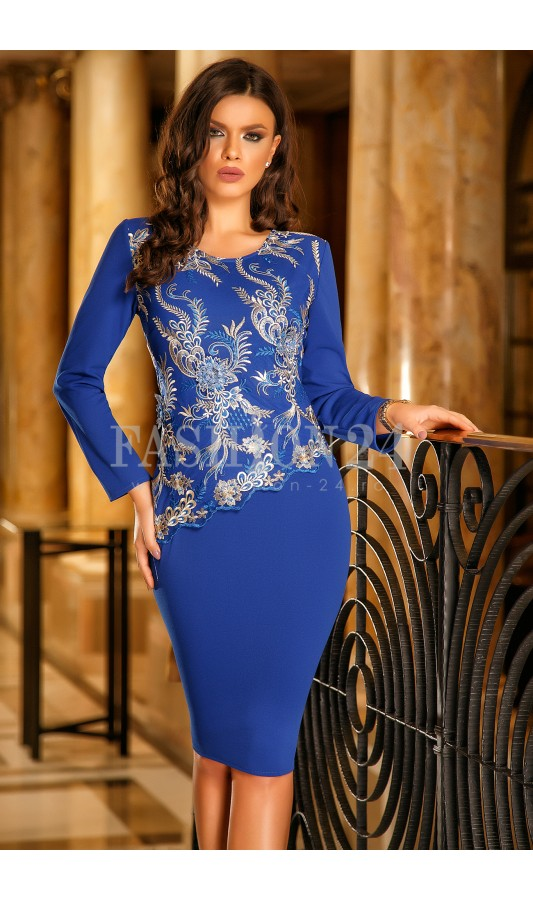 Rochie Blue Secret Long