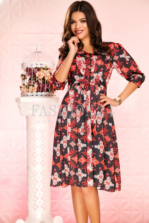 Rochie Kinsey Red