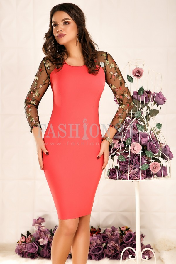 Rochie Maylee Coral