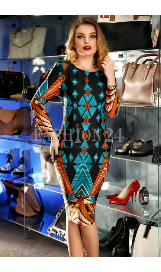 Rochie Brynley Multicolour